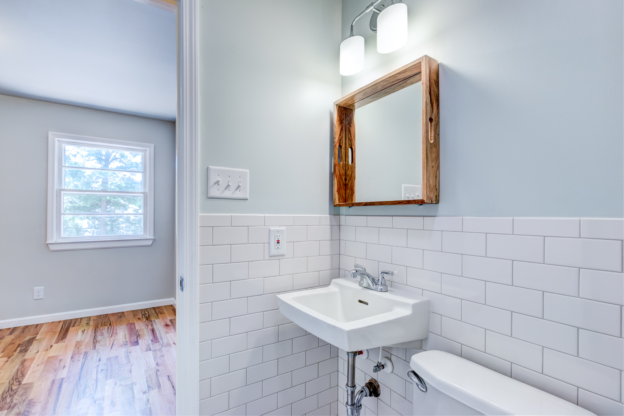 Tiny Duplex Apartment: Bathroom Update Before & After – Dhinoy Studios