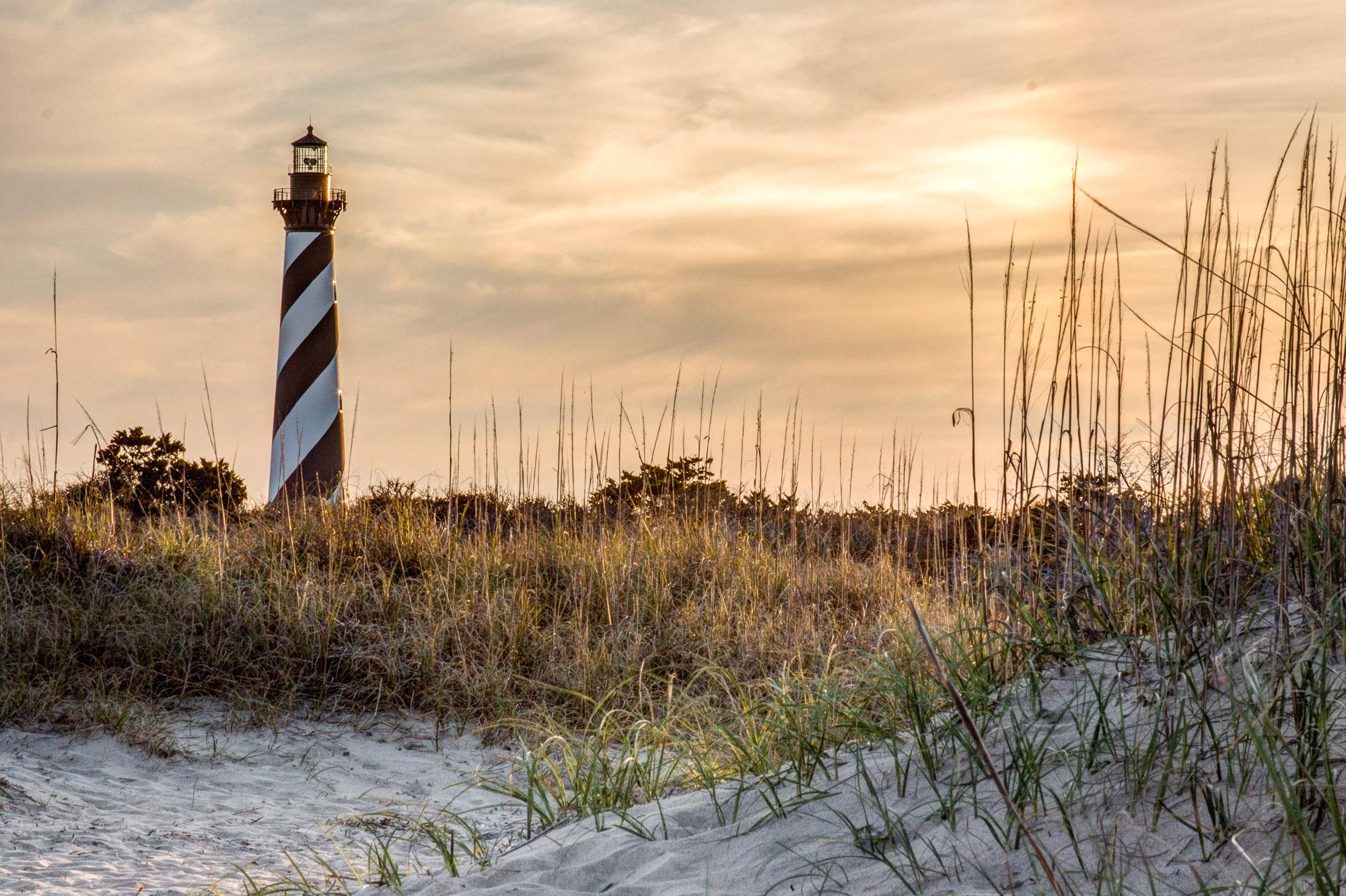 Cape-Hatteras-Lighthouse-Sunset-2236
