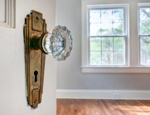 Vintage Glass Door Knob