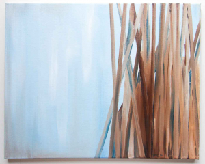 Blue Reed Painting_6147