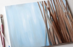 Blue Reed Painting_6161