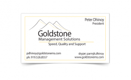 Business Card Goldstone