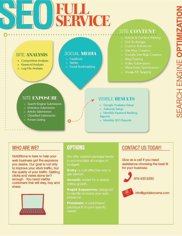SEO Marketing Digital Flyer
