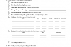 Medical Office Patient Form