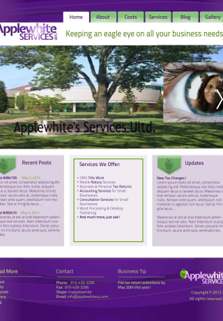 Web Design Applewhite