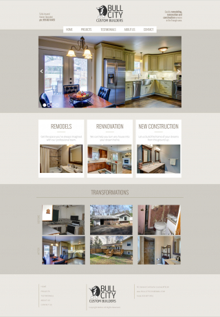 Web Design Bull City Custom Builders