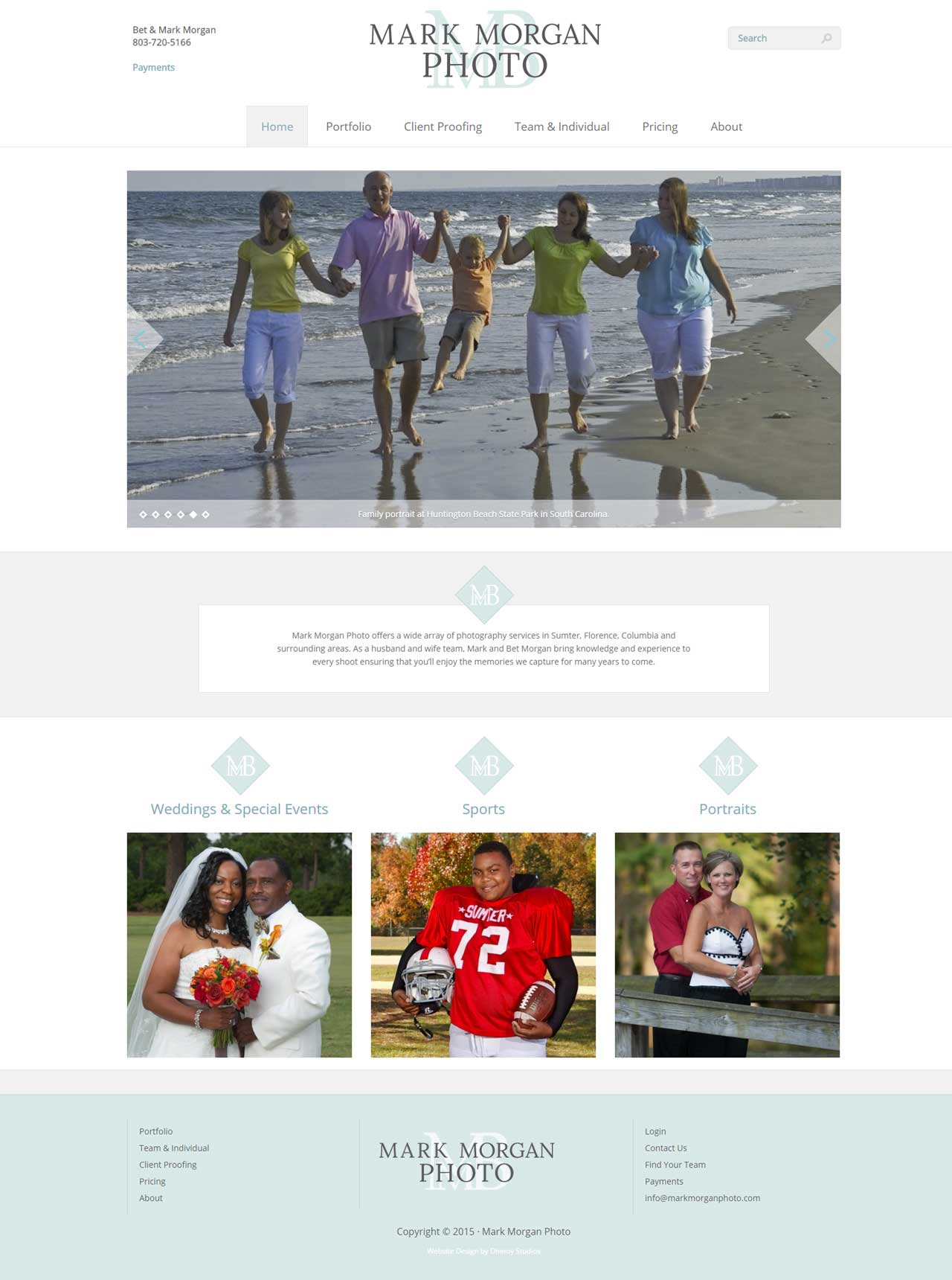 Website Design Photography