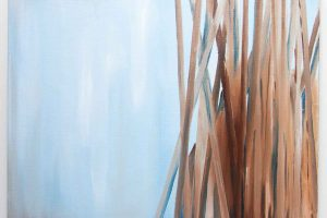 Blue Reed – Modern Artwork for Home Decor